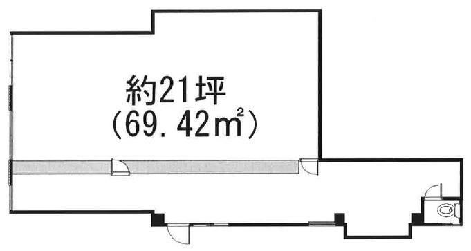 堀切菖蒲園の物件の間取り図