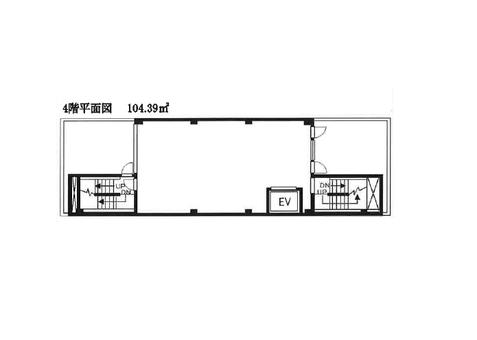 北松戸の物件の間取り図