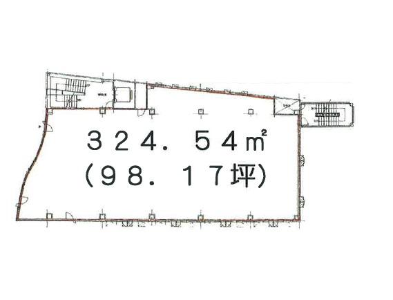 竹ノ塚の物件の間取り図