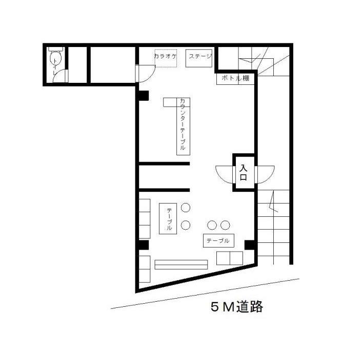 柴崎の物件の間取り図