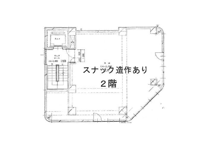 蒲田の物件の間取り図