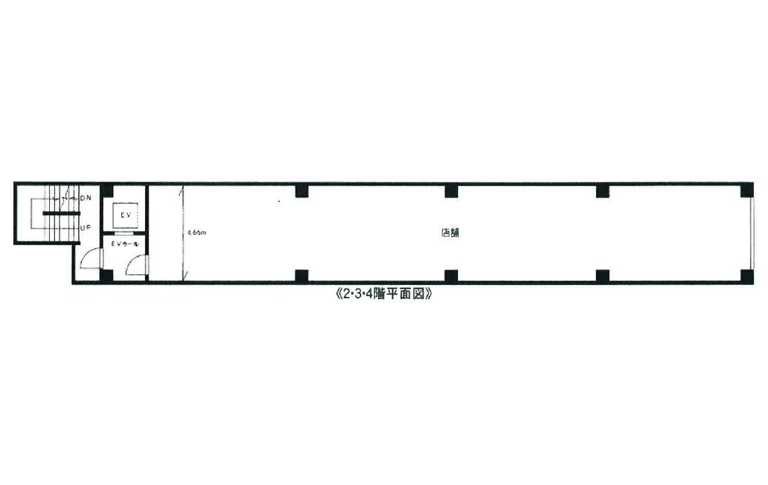 東戸塚の物件の間取り図