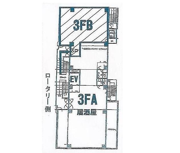 松原団地の物件の間取り図