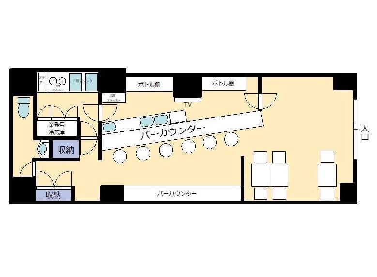 久米川の物件の間取り図
