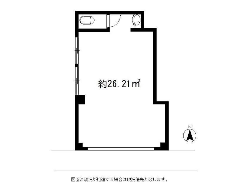 椎名町の物件の間取り図