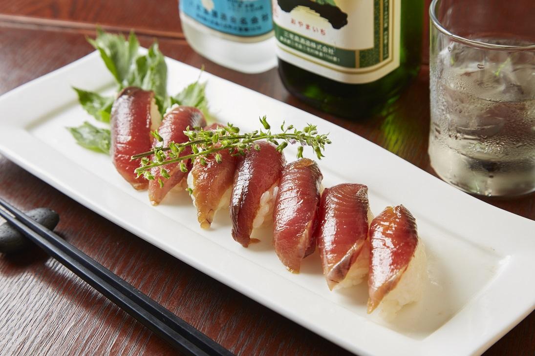 東京島酒場 島寿司