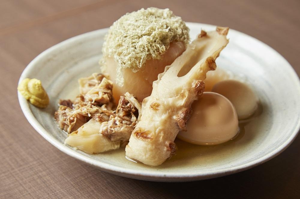 東京串焼倶楽部名物飛魚出汁おでん盛り合わせ