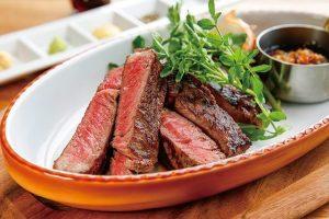麻布十番リポッソのステーキ