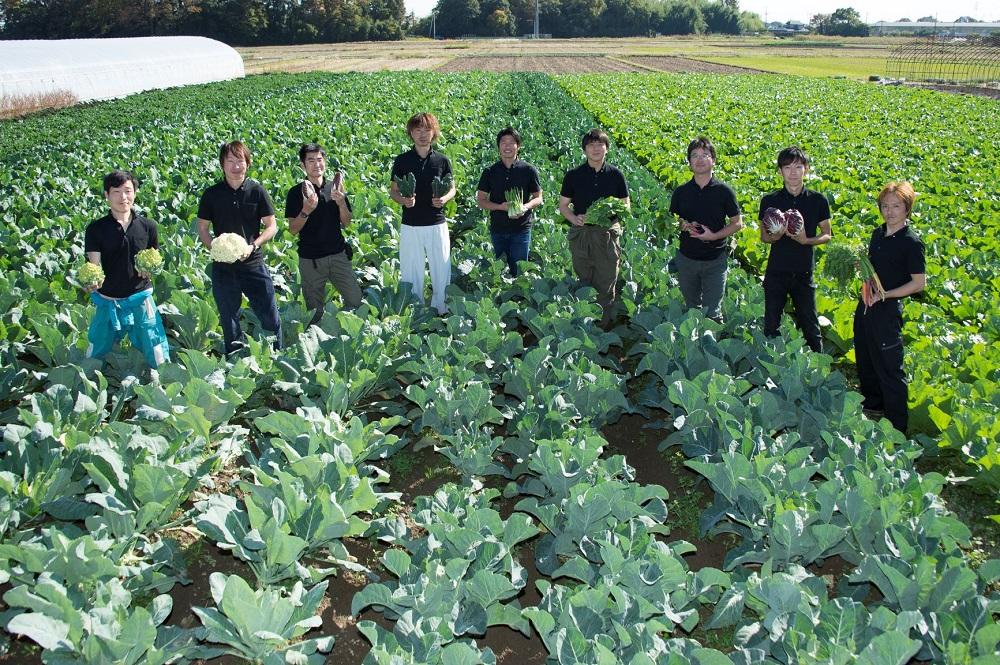 さいたまの若手生産者と自信のヨーロッパ野菜