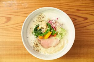 麺処竹川鶏白湯ラーメン