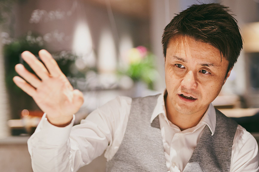 株式会社キープ・ウィルダイニング代表取締役社長の保志真人氏