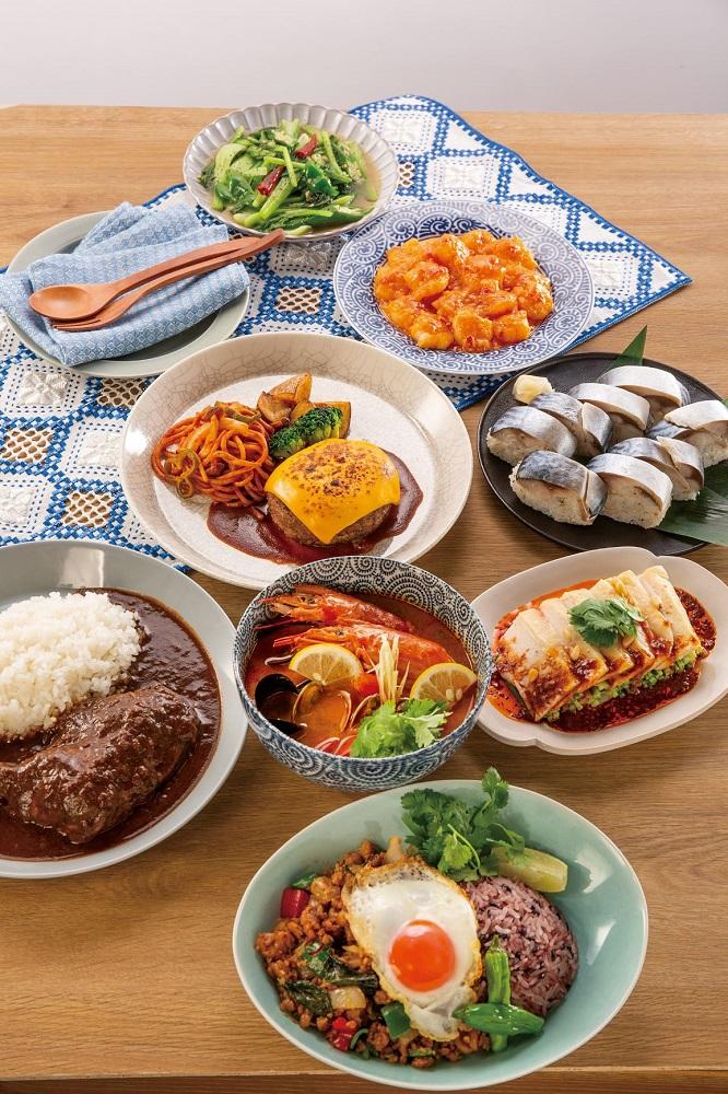 日常的な「家庭の食事」に加えてハレの日の料理にも応えることができる