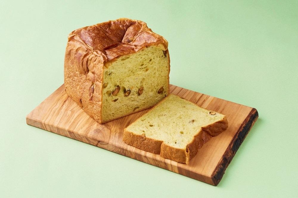 ピスタチオ食パン~グリーンの霹靂~